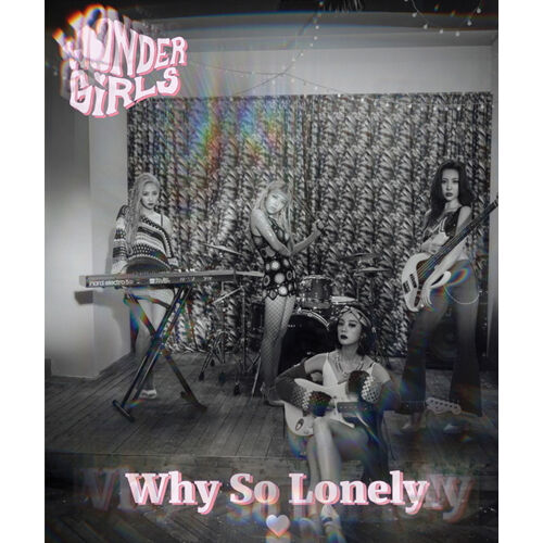 WONDER-GIRLS-WHY-SO-LONELY-3rd-Single-Album-CD-POSTER-55p-Photo-Book-K-POP