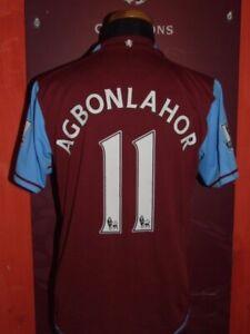 Agbonlahor Aston Villa 2007/2008 Maglia Shirt Calcio Football Maillot Jersey