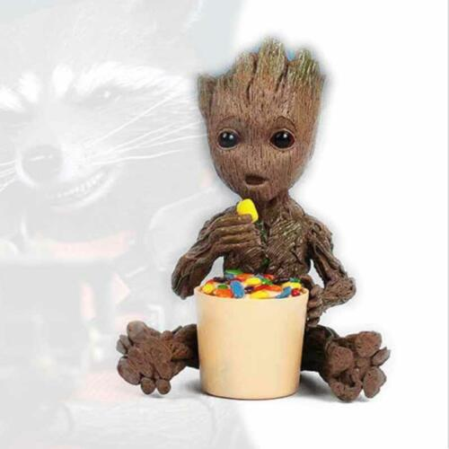 !Eating Sugar Baby Groot Candy Guardians of the Galaxy vol 2 Key Chain Figuren
