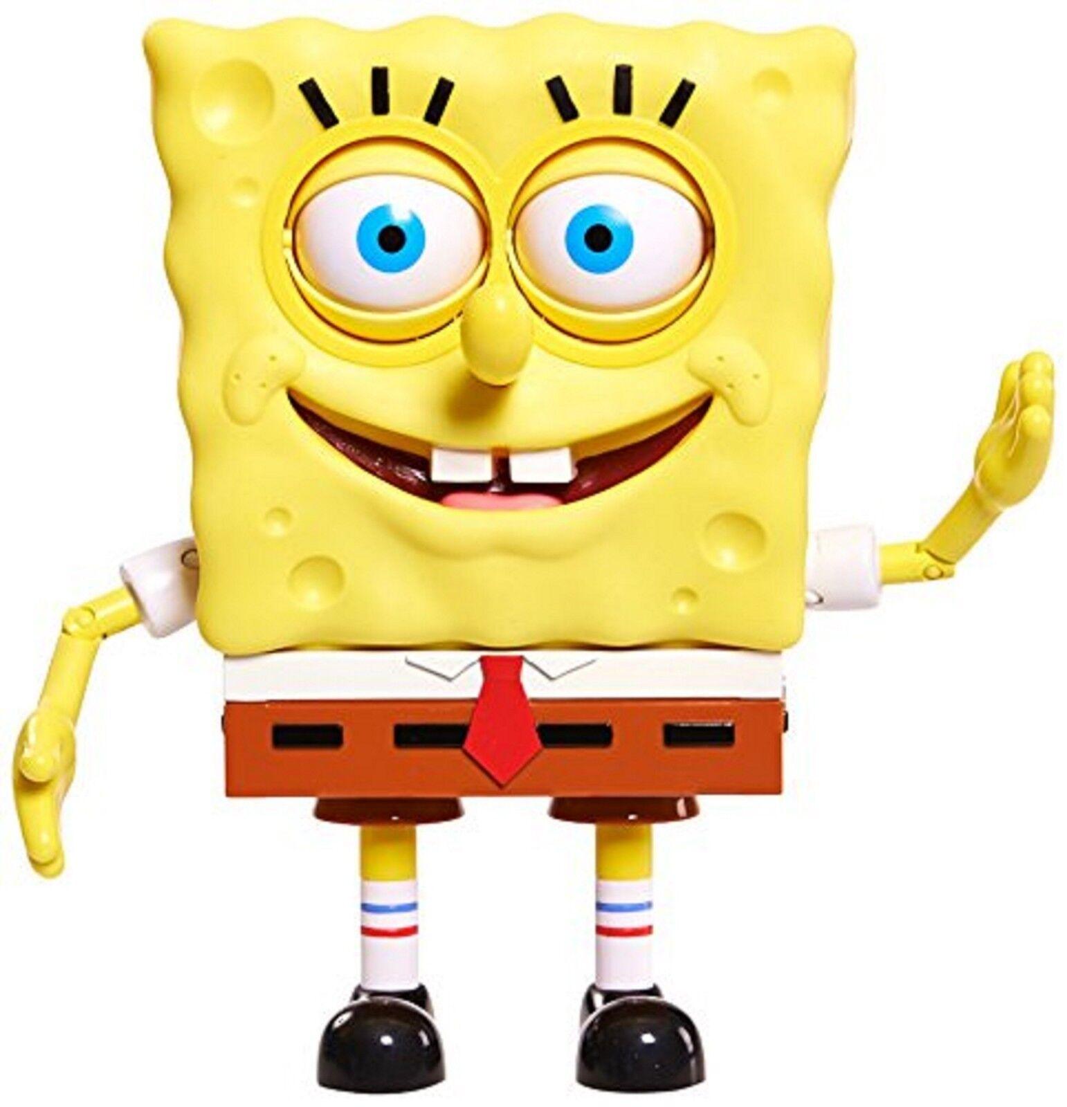 Spongebob spongebuddy mit superhirn squrepants puppe alter 3 + neues spielzeug
