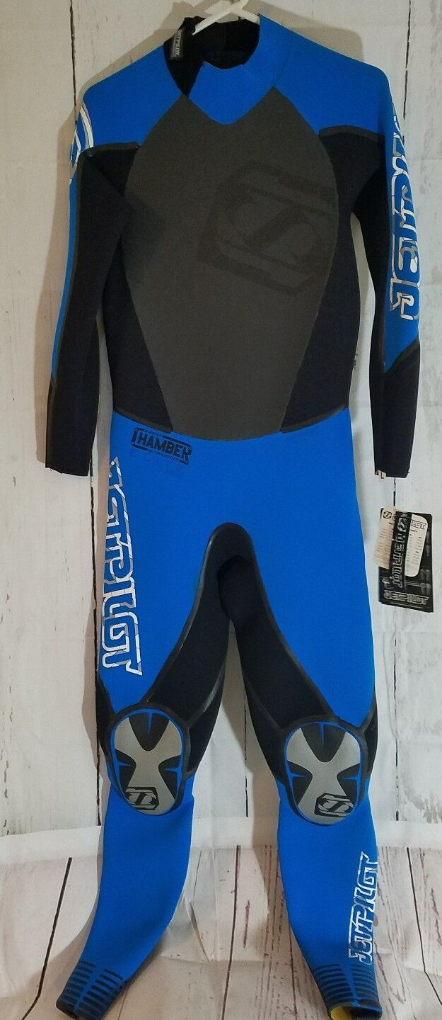 Womens Large Full Wet  Suit Jet Pilot Ladies bluee Super Dam Hydro Shield Chamber  high quality & fast shipping