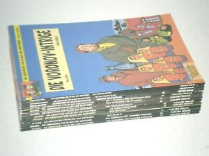 Collection-Blake-amp-Mortimer-1-11-complet-Capitaine-a-partir-de-1979-resp-1-1-JACOBS