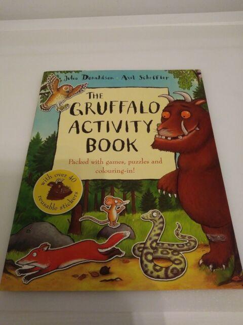 The Gruffalo by Julia Donaldson and The Gruffalo Activity Book