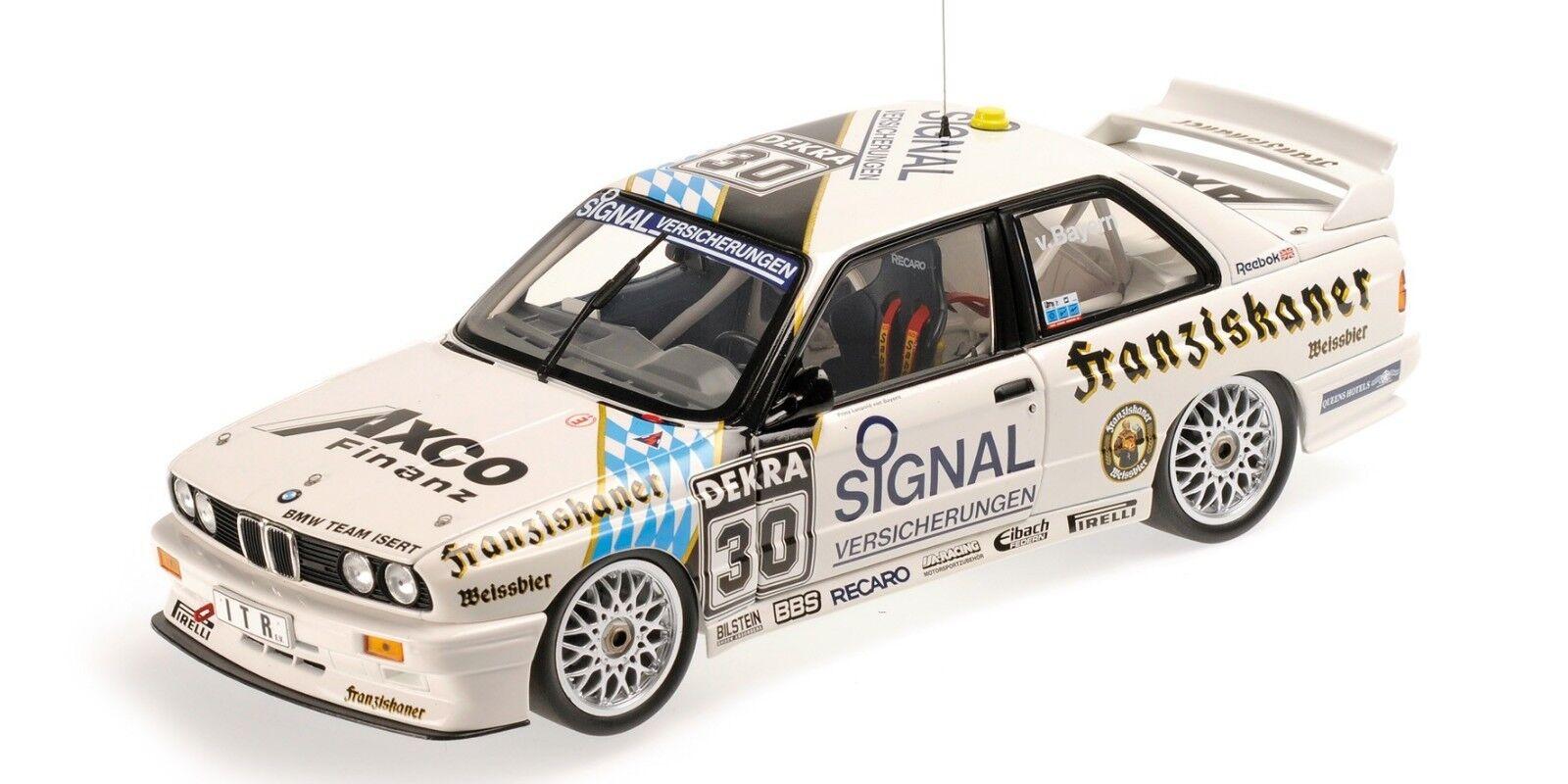 1 18 BMW M3 von Bayern Norisring DTM 1991 1 18 • Minichamps 180912030