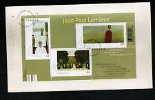 CANADA  2004 JEAN PAUL LEMIEUX** FDC (3 / $2.69) MHH  # 2068  LOT E 44
