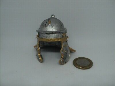 "Accessories for 12/"" Action Figure 1:6 scale Metal Armor Roman Centurion Helmet"