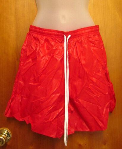 SOFFE SHORTS crimson flamingo vtg OG gym shorts NEW cheerleader athletic