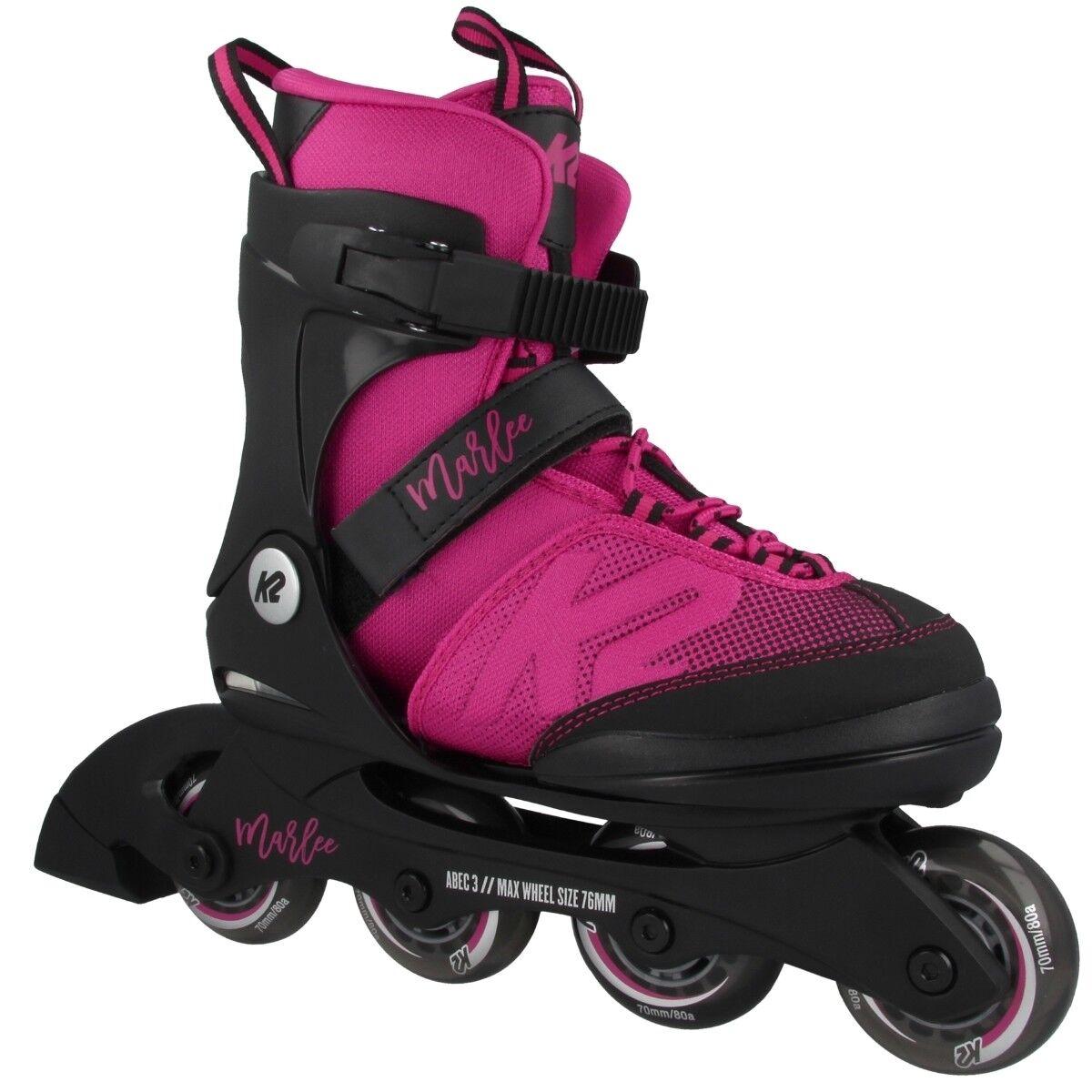 K2 Marlee Kids Inline Inline Inline Skates Kinder Inliner Skating Fahrspaß 70mm 30D0220  | Authentisch  11bff1