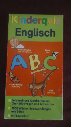 1 von 1 - Kinderquiz Englisch