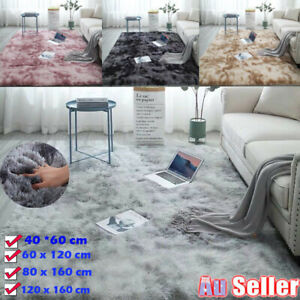 Fluffy Rug Shaggy Floor Mat Soft Faux