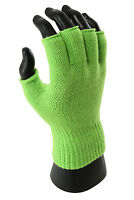 Men Women Adult Outdoor Knitting Warm Mittens Fingerless Winter Acrylic Gloves
