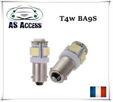 2 Ampoules à LED type BA9S T11 T4W 6000K