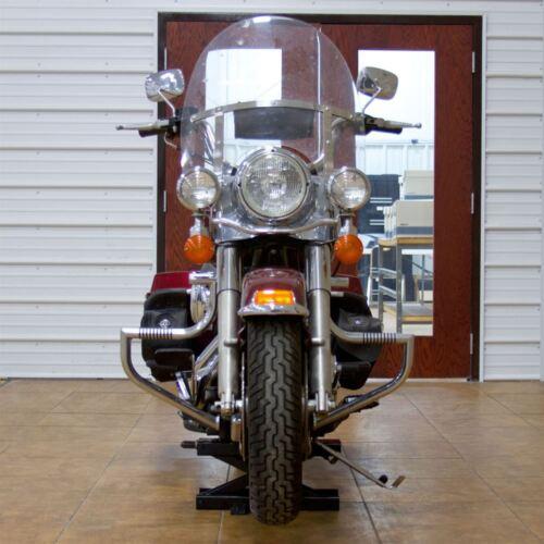 Capacity 1,100 lb Black Widow Steel Motorcycle Jack