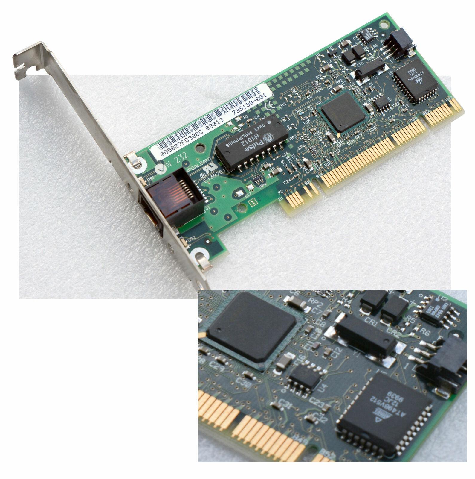 Network Card Intel PCI 10/100 PILA8470 F & Windows 95 98 2000 XP 7 Bootrom V110W