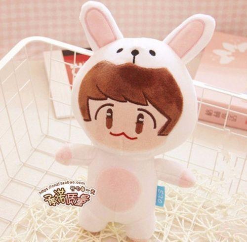 Korea Fashion Kpop EXO Bigbang GOT7 Superstar Cartoon Plush Toy Stuffed Dolls