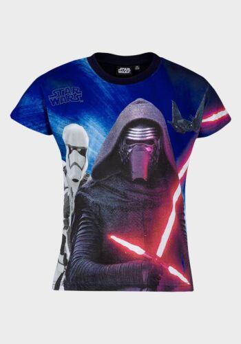 7 BNWT Boys Disney Star Wars Darth Vader Stormtrooper Kylo Ren T-Shirt Top