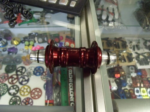 "PROFILE RACING MINI 3//8/""---36H FRONT RED BMX BICYCLE HUB"