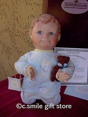 Ashton Drake Porcelain Doll *JOHNNY* Yolanda Bello 1994 Ltd Ed MIB w/COA RARE!!