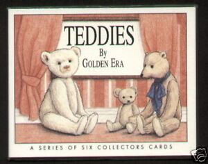 TEDDIES Collectors Card Set - Steiff, Merrythought, JK Farnell, Ideal & Bruin