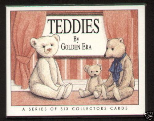 TEDDIES Collectors Card Set Steiff Merrythought Ideal /& Bruin JK Farnell