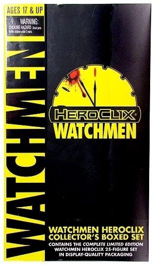 DC HeroClix Watchmän samlaor s lådaade Set Mint