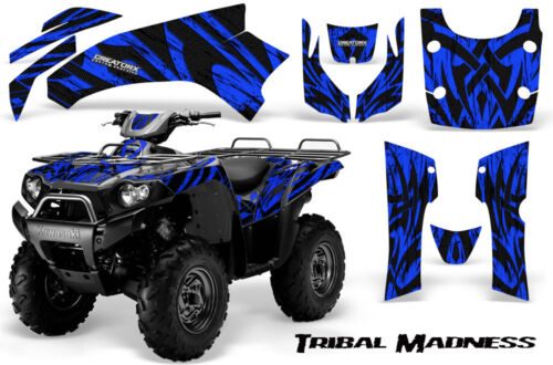KAWASAKI Brute Force 750 Graphics Kit 04-11 CREATORX TRIBAL MADNESS BLUE
