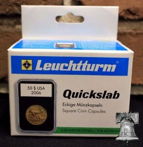 5-Lighthouse-QUICKSLAB-Coin-Holder-39mm-1oz-Silver-Round-Poker-Chip-Case-Slab