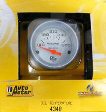 Auto Meter 4348 Ultra Lite Pro Comp Electric Oil Temarature Gauge 100 300 F