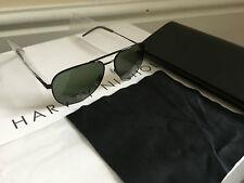 SAINT LAURENT C11 Aviator Sunglasses 55mm BLACK - New in Case & Cloth -RRP £260