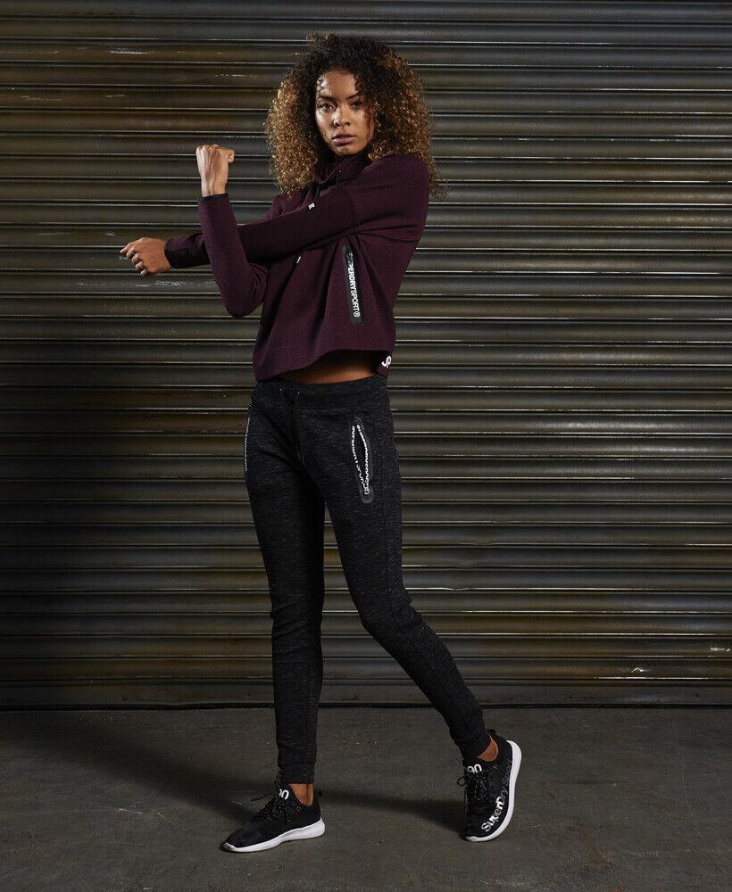 Haut Femme Superdry Sd Sport Gym Tech Luxe Survêtement
