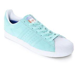 Adidas-Skateboarding-Superstar-Vulc-ADV-Aqua-Pastel-Size-6-5-US-Men-Skate-Shoes