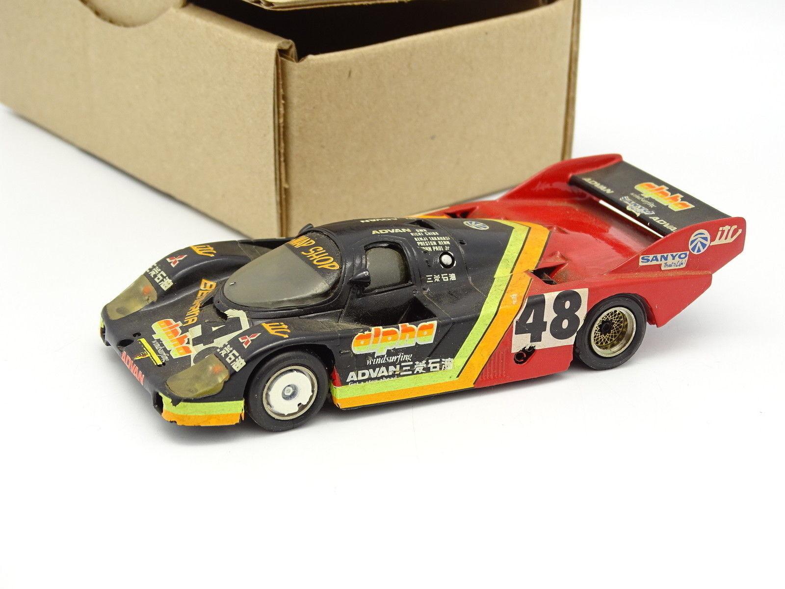 Starter Kit Monté SB 1 43 - Porsche 956 Alpha Fuji 1983 N°48