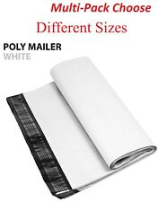 100 200 500 1000 White Poly Mailers Shipping Envelopes Self Sealing Bags