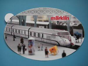 """""""Märklin"""", Diesel-Gliedertriebzug VT 10.5 """"Senator"""" der ehem. DB -Aufkleber- - Essen, Deutschland - """"Märklin"""", Diesel-Gliedertriebzug VT 10.5 """"Senator"""" der ehem. DB -Aufkleber- - Essen, Deutschland"""