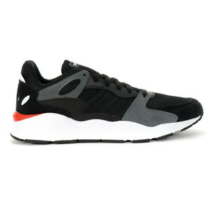 Adidas Men's Crazychaos Core Black/Grey Six Running Shoes EF1053 NEW