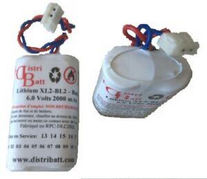 BL2-BATBL2-6-0-Volt-2-Ah-Pack-Lithium-Battery-LiMnO2-for-Alarm-Label