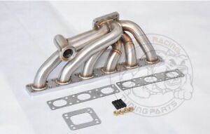 Details about SS321 3 0mm T3/T4 Top mount Turbo manifold For BMW E30 E34  M50 M52 M54 S50 S52