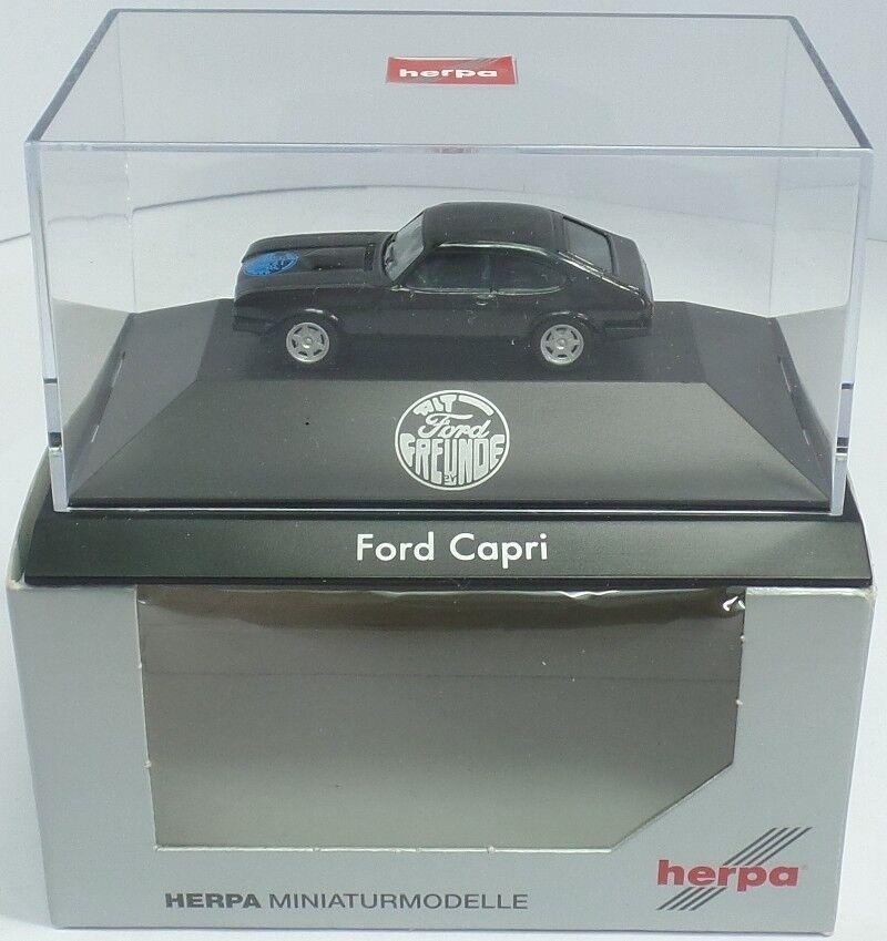 HERPA Nr.295840 Ford Capri III (SoMo Alt Ford Freunde PC, Auflage 200) - OVP    Verschiedene aktuelle Designs