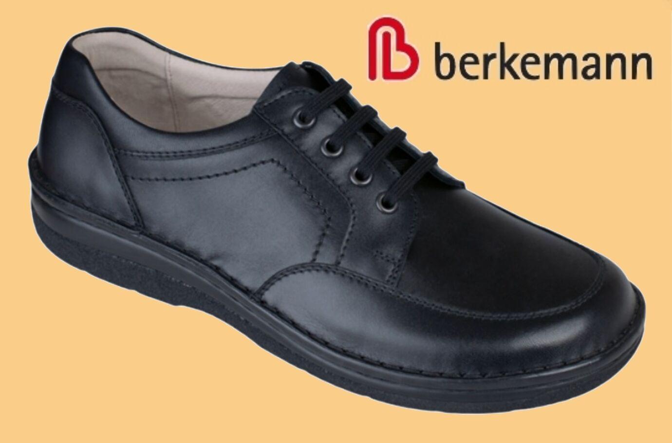 Schuhe Herren Halbschuhe Schnürschuhe Berkemann Wechselfußbett ROTUZIERT 11,5