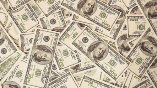 ICING SHEET * Dollar Bills Money Print Background cake Edible A4