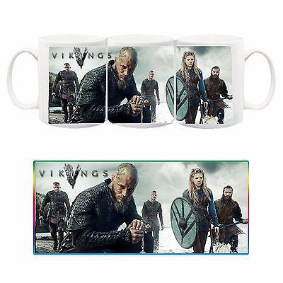 Ospitale Vikings Ragnar Rollo Floki Lagertha Tazza Ceramica Mug Cup Serie Tv Telefilm Promuovi La Produzione Di Fluidi Corporei E Saliva