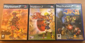 Jak and Daxter: The Precursor Legacy, Jak II & Jak 3 ps2 Bundle