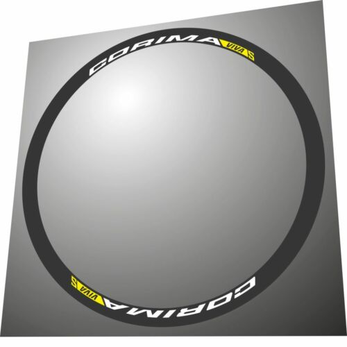 CORIMA VIVA S  REPLACEMENT RIM DECAL SET FOR TWO RIMS