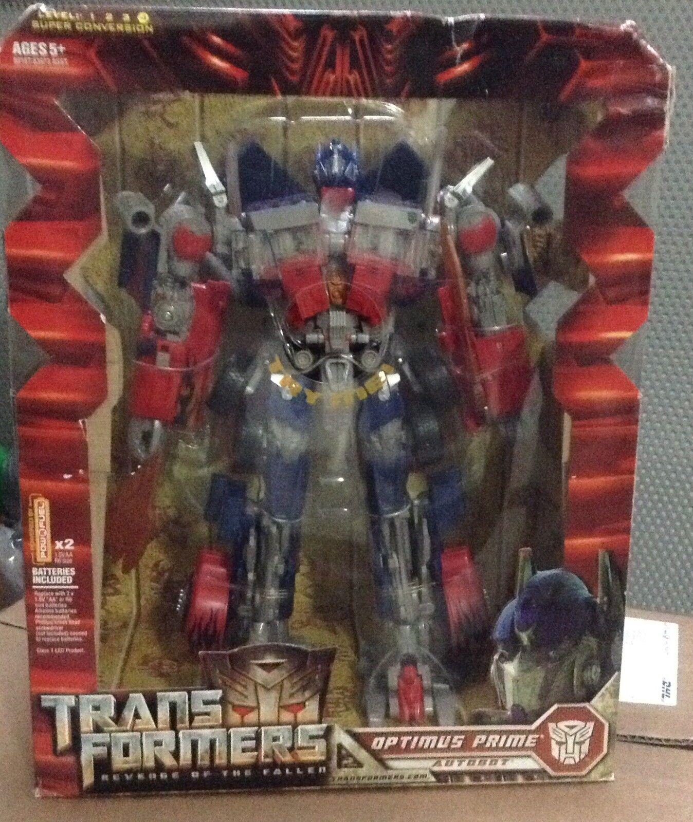 Transformers ROTF Optimus Prime Leader Class