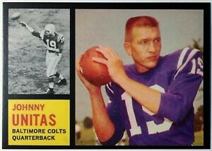 1962-Topps-1-Johnny-Unitas-Reprint-Mint-Baltimore-Colts