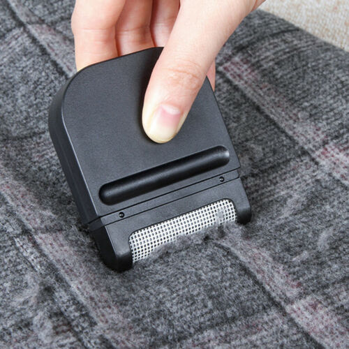 Portable Lint Remover Hair Fuzz Shaver Clothing Cleaning Epilator Black