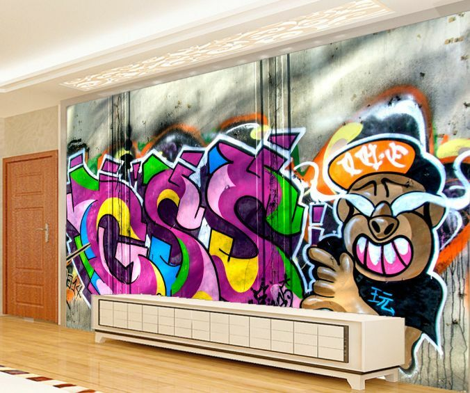 3D Cool Boy 50 Wall Paper Wall Print Decal Wall Deco Indoor Wall AJ Wall Paper