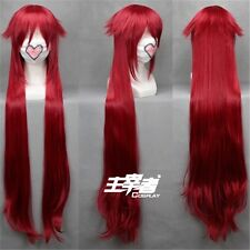 Black Butler Grell Sutcliff  90cm Cosplay Costume Anime Wig +Free CAP