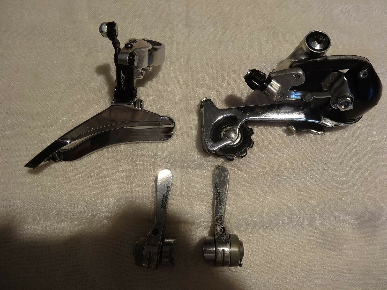 NOS Shimano Exage 300LX  100LX mini-groupset 7 speed L'Eroica  fast delivery