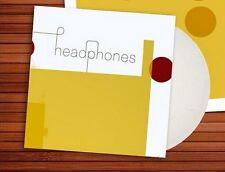 Headphones Self Titled WHITE VINYL LP Record & MP3! pedro the lion! david bazan!